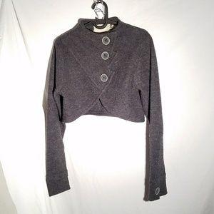 SPARROW Cropped Cardigan Sweater, size Medium